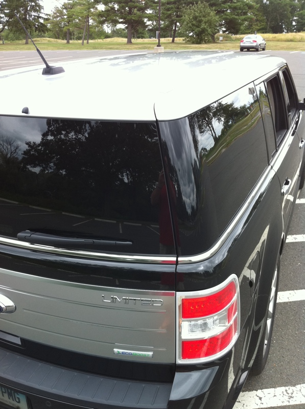White Silver Roof Or Black Roof Ford Flex Forum