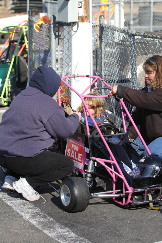 Quarter midget safety